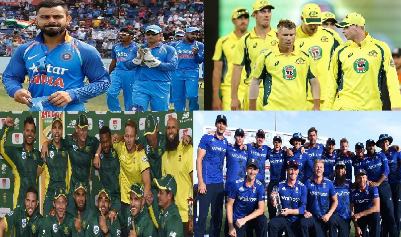 ICC Test Ranking – Top 10 list of ICC Ranking 2017 – All