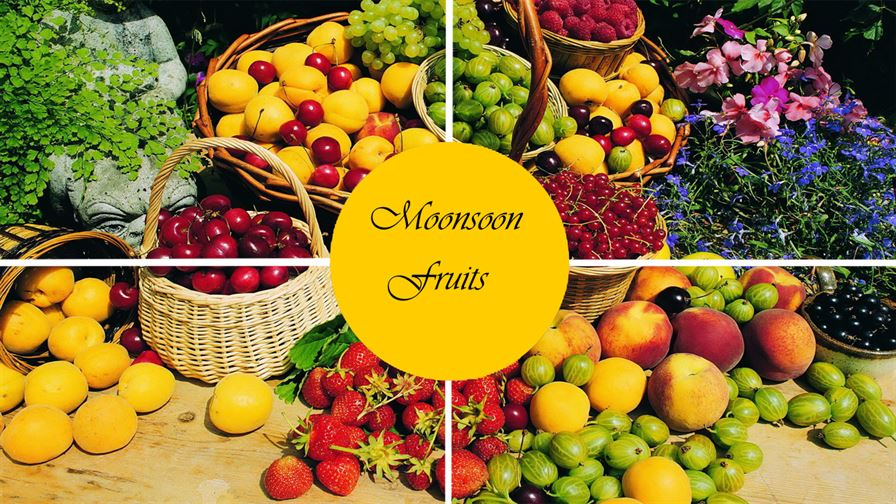 Monsoon fruits in India, During Rainy season with Eat Fruits - DataInFlow