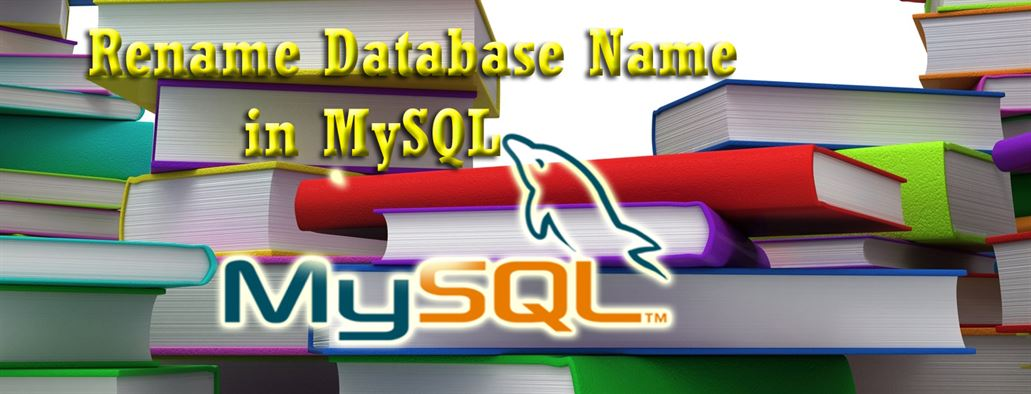 How to change Database name in MySQL Database table - DataInFlow