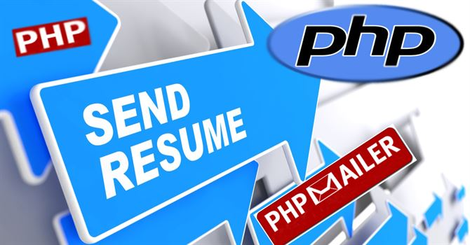 how to send resume file via mail in php using phpmailer datainflow