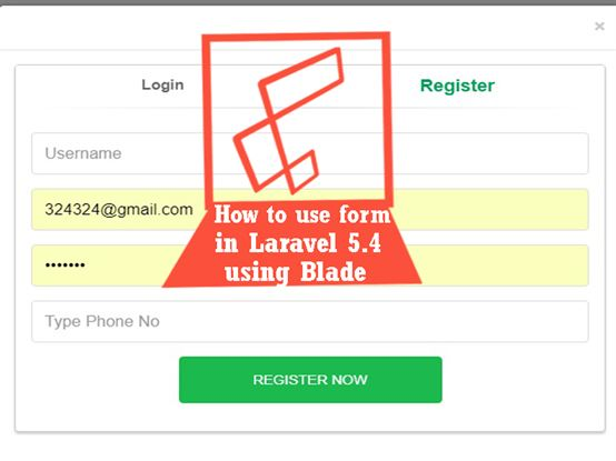 How to use form in Laravel 5.4 version using Blade - Laravel 5 ...