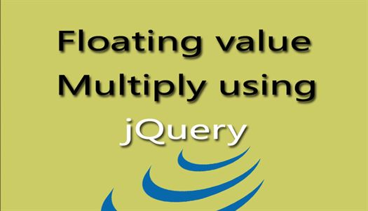 Floating value multiply using jQuery - DataInFlow