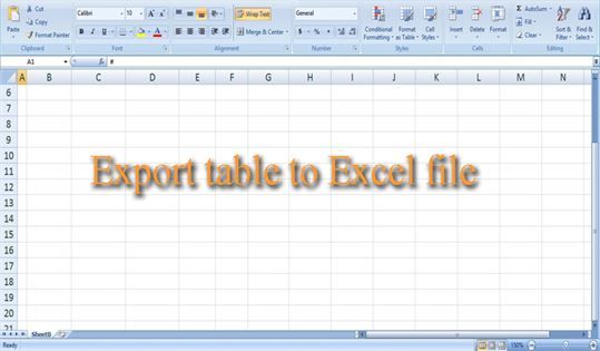 Export table to Excel file in PHP CODEIGNITER - DataInFlow