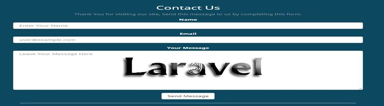 Create a Contact Form in Laravel Blade Template - DataInFlow