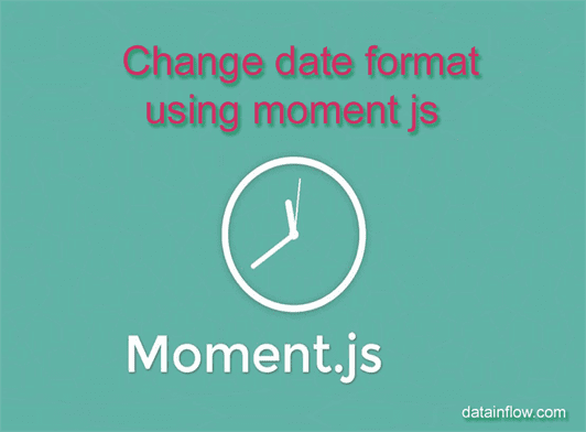 Moment format date iso