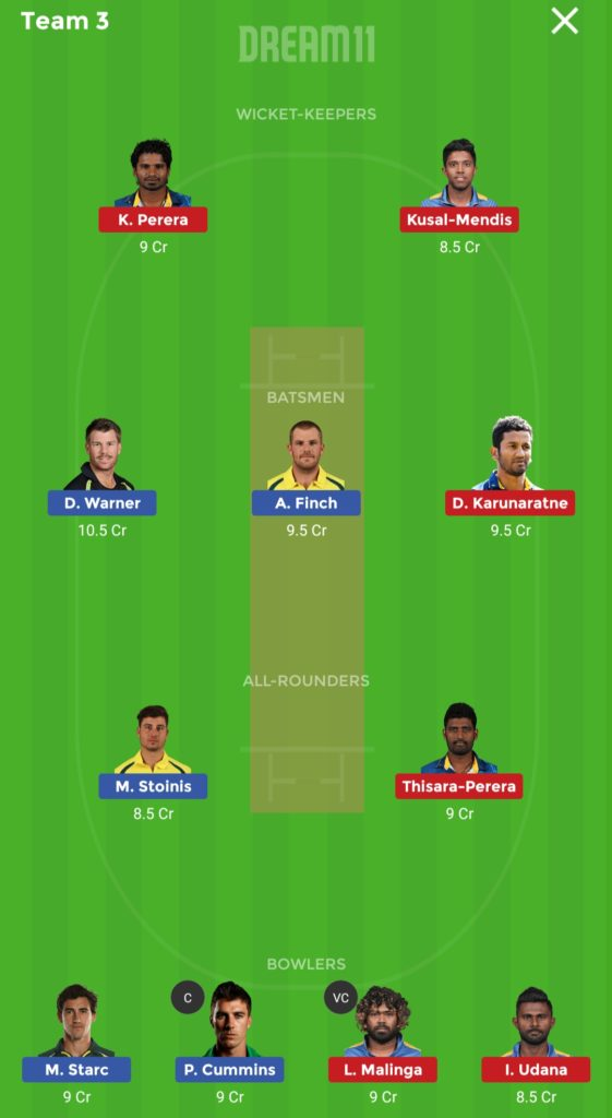 Sri Lanka vs Australia Dream 11 match 20 team 3 561x1024 - Sri Lanka vs Australia Dream 11 match 20 Prediction