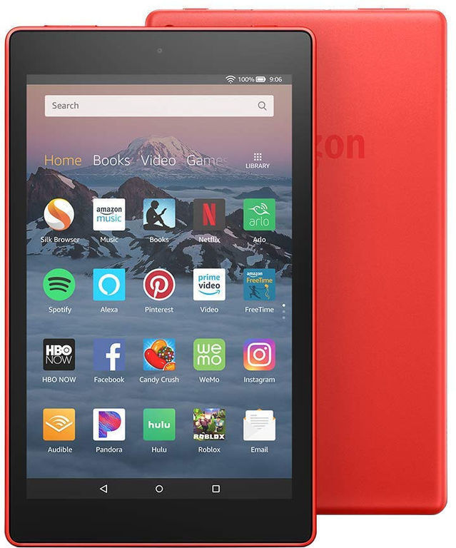 amazon fire hd 8 2018 raw 259502 - The Best 10 Tablets in 2019 You Can Buy now